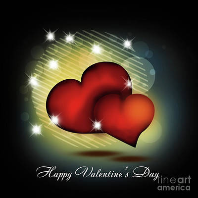 Digital Art - Valentines Day Card 1 by Scott Parker