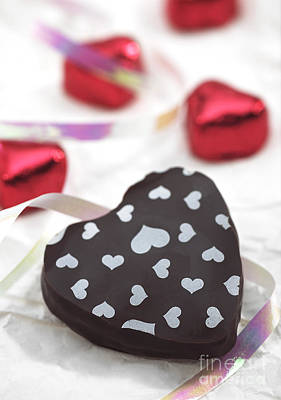 Photograph - Valentines Day Chocolate by Gerard Lacz