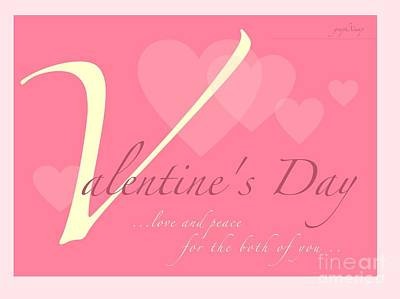 Digital Art - Valentine's Day by Wade Hampton