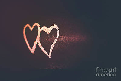 Photograph - Valentine's Day Greeting Card by Anna Om