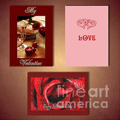 Digital Art - Valentine's by JH Designs