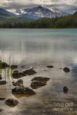 Photograph - Valey Of 5 Lakes Reflection Portrait by Adam Jewell