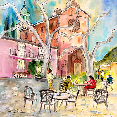 Painting - Valldemossa 02 by Miki De Goodaboom