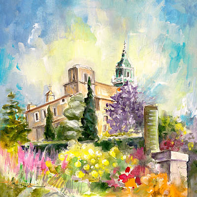 Painting - Valldemossa 03 by Miki De Goodaboom