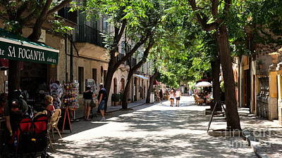 The Champagne Collection - Valldemossa Street View by John Chatterley