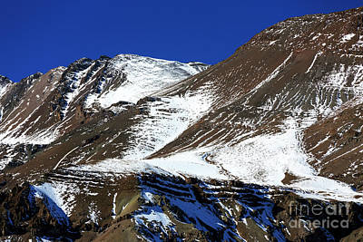Photograph - Valle Nevado Curves In Chile by John Rizzuto