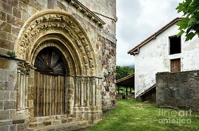 Photograph - Vallejo De Mena Romanesque Church Of San Lorenzo by RicardMN Photography