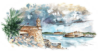 Painting - Valleta 03 by Miki De Goodaboom