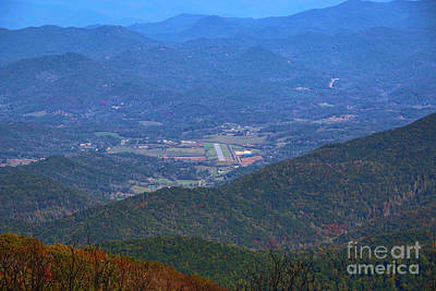 Photograph - Valley Airstrip by Tom Claud