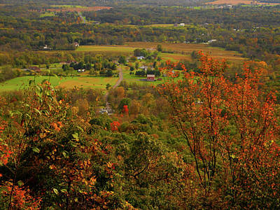 Photograph - Valley Below Along Pa At by Raymond Salani III