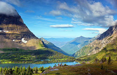 Glacier National Park Photograph - Valley Beyond by Rebecca L. Latson