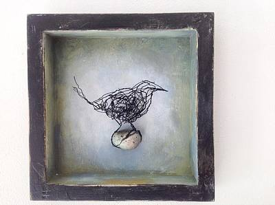 Mixed Media - 'valley Bird' by Susan McCarrell