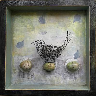 Mixed Media - 'valley Birds' by Susan McCarrell