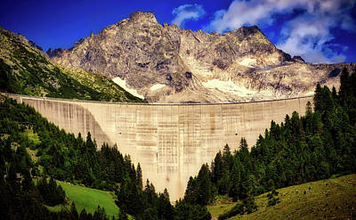 Photograph - Valley Dam In Austria by Pixabay