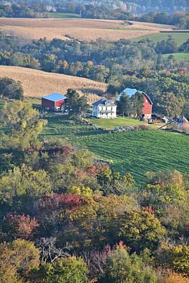 Photograph - Valley Farm Portrait 2 by Bonfire Photography