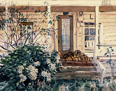 Sonoma County Painting - Valley Ford House by Donald Maier