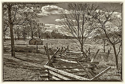 Valley Forge Military Camp Art Print by David Zanzinger