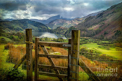Fence Digital Art - Valley Gate by Adrian Evans
