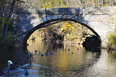 Valley Green Bridge Art Print by Bill Cannon
