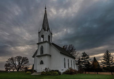 Photograph - Valley Grove Churches #3 by Patti Deters