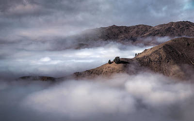 Photograph - Valley In The Clouds by Brad Grove