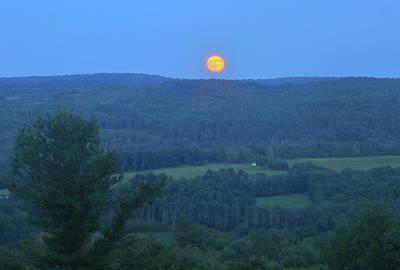 Thomas Kinkade - Valley Moonrise by John Burk
