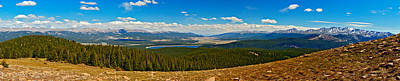 Mt Harvard Photograph - Valley Of 14ers Panorama by Jeremy Rhoades