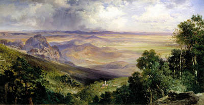 Valley Of Cuernavaca Art Print