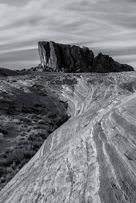 Photograph - Valley Of Fire Bw by Jonathan Nguyen