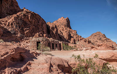 Photograph - Sandstone Cabins by Ed Clark