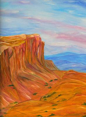 Painting - Valley Of Fire by Cary Singewald
