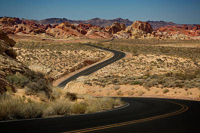Photograph - Valley Of Fire Iv by Ricky Barnard