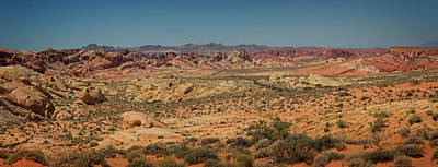 Photograph - Valley Of Fire Panorama by Ricky Barnard