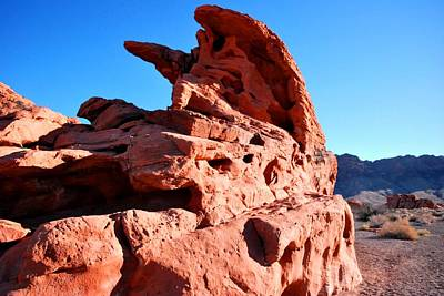 Photograph - Valley Of Fire Rocks View by Matt Harang