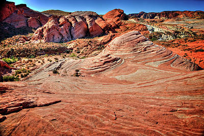 Photograph - Valley Of Fire State Park Nevada by James Hammond