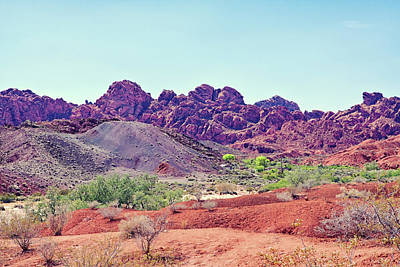 Photograph - Valley Of Fire State Park, Nevada by Tatiana Travelways