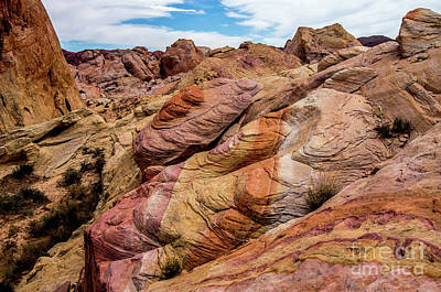 Photograph - Valley Of Fire by Stephen Whalen