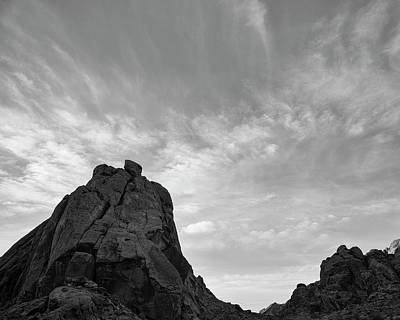 Photograph - Valley Of Fire Vi Bw by David Gordon