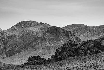 Photograph - Valley Of Fire Viii Bw by David Gordon