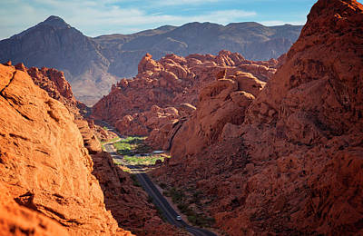 Photograph - Valley Of Fire Xii by Ricky Barnard