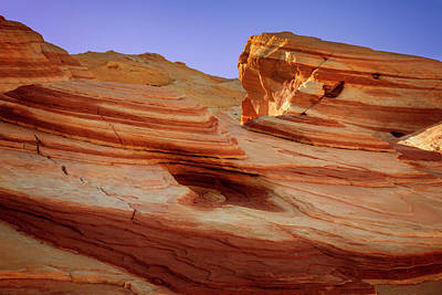 Photograph - Valley Of Fire Xviii by Ricky Barnard