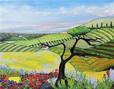 Painting - Valley Of Hope by Stephanie Callsen