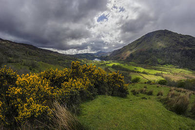 Photograph - Valley Of Nant Gwynant by Ian Mitchell