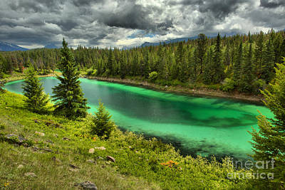 Photograph - Valley Of The Five Lakes Emerald Pool by Adam Jewell