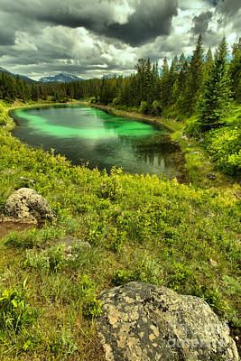 Photograph - Valley Of The Five Lakes Portrait by Adam Jewell