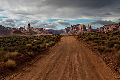 Photograph - Valley Of The Gods by Bryan Xavier