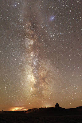 Photograph - Valley Of The Gods Milky Way by Jean Clark