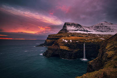 Mountain Royalty-Free and Rights-Managed Images - Valley of the Goose by Tor-Ivar Naess