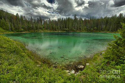 Photograph - Valley Of The Ive Lakes Reflections by Adam Jewell