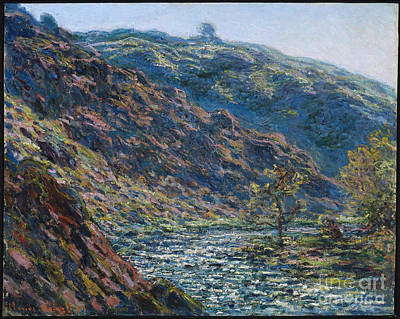 Valley Of The Petite Creuse Art Print by MotionAge Designs